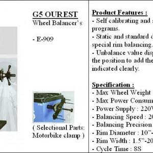 G5 balancer car