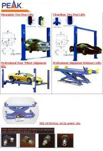 Lift Mobil, 2postlift mobil, 4postlift mobil, scissor lift mobil