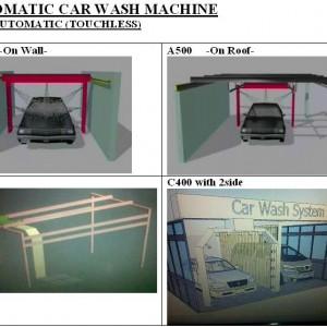 Semi Automatic, Model gantung atas - 1Ruko